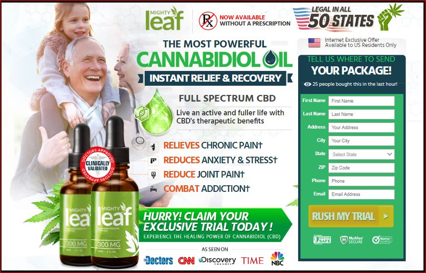 Mighty Leaf CBD Oil